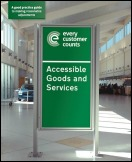 Accessible goods and services