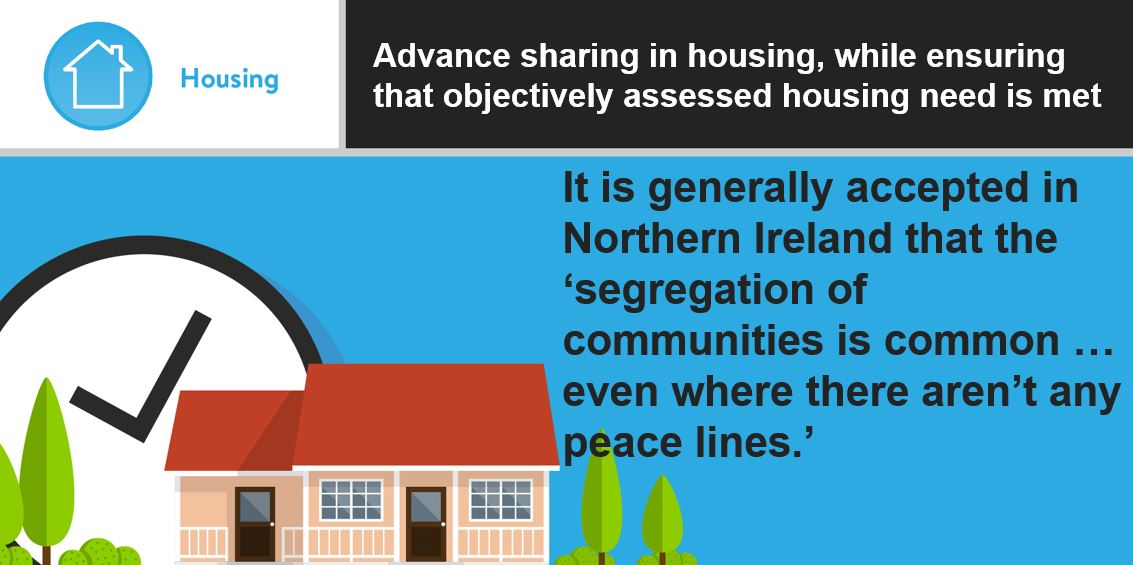 Infographic: Advance sharing in housing, while ensuring that objectively assessed housing need is met
