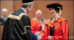 Opportunity for all is the key, Dr Evelyn Collins tells Graduates