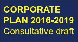 Have your say on our Corporate Plan for 2016-19