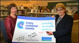 Libraries NI signs up to 'Every Customer Counts' initiative