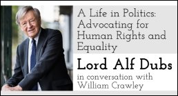 Lord Dubs to speak on rights and equality in Belfast - 17 May 2018