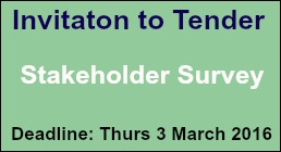 Invitation to Tender: Stakeholder Survey