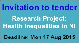 Invitation to tender: Research Project - Health Inequalities in NI
